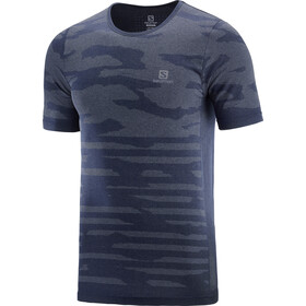 Salomon XA Camo Koszulka z krótkim rękawem Mężczyźni, night sky/heather